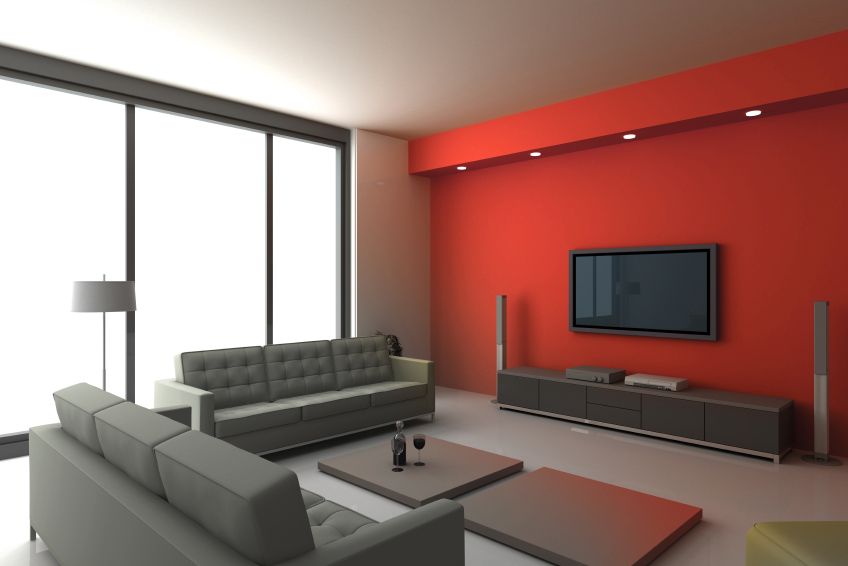 Home cinema loft conversion
